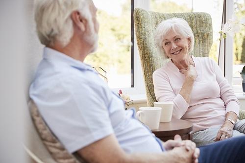 une maison de retraite pour personnes âgées à Nice